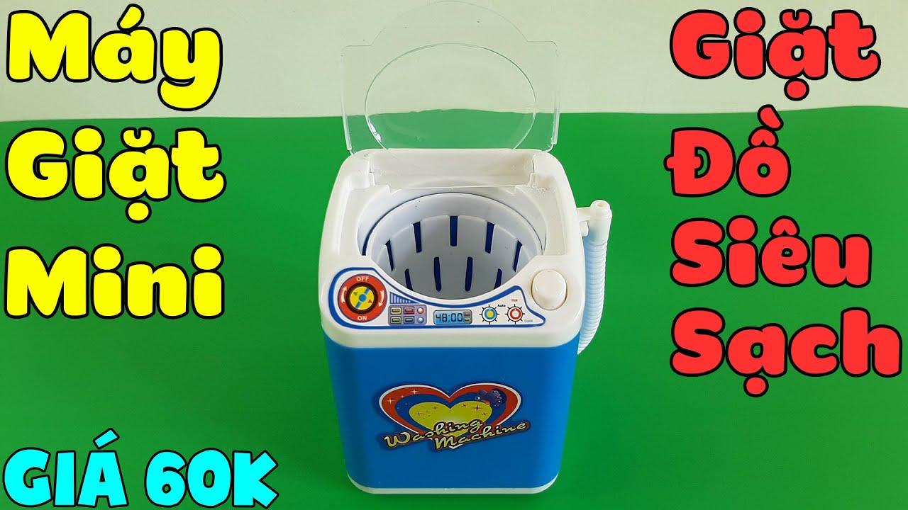 Mở Hộp Máy Giặt Mini, Giặt Đồ Siêu Sạch Mua Trên Shopee