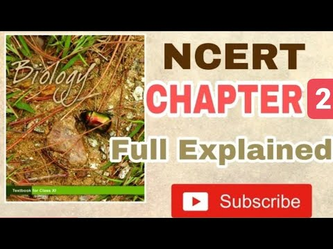 NCERT Chapter 2 Biological Classification Class 11 Biology Full Command For BOARDS And NEET
