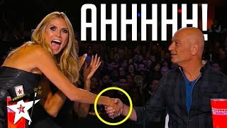 howie mandel gets hypnotised on america s got talent magicians got talent