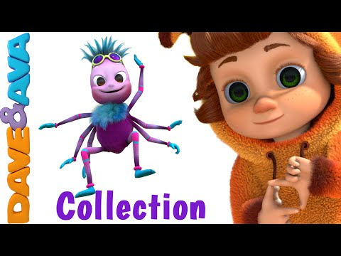 Itsy Bitsy Spider | Nursery Rhymes Compilation | YouTube Nursery Rhymes from Dave and Ava