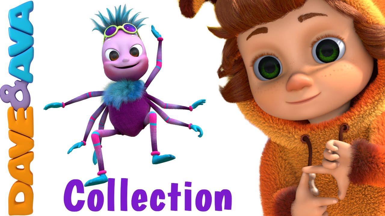 Itsy Bitsy Spider | Nursery Rhymes Compilation | YouTube ...