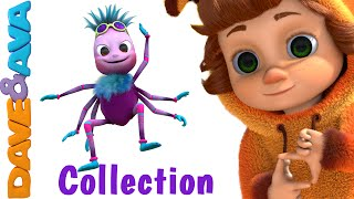 Download lagu Itsy Bitsy Spider Nursery Rhymes Compilation YouTube Nursery Rhymes from Dave and Ava MP3