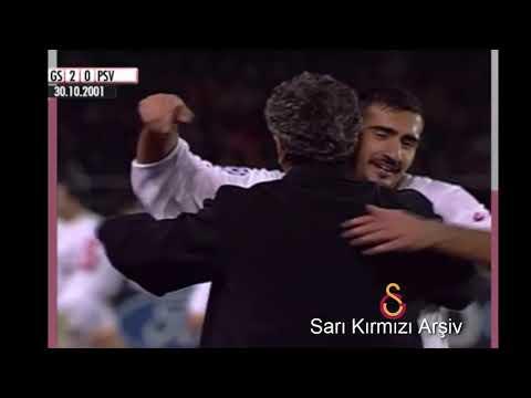 2001 2002 Galatasaray Psv Eindhoven Şampiyonlar Ligi Maçı