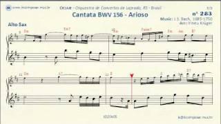 283 - Cantata BWV 156 J.S.Bach - (Alto Sax)
