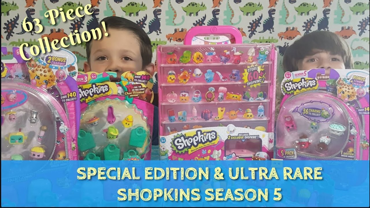 Another Try At Slark Ultra Rare: SPECIAL EDITION & ULTRA RARE SHOPKINS SEASON 5! COLLECTOR
