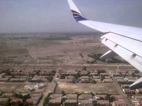 Landing to Banjul, Gambia, west africa, by tuskongroup.com