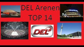 DEL Arenen #TOP 14