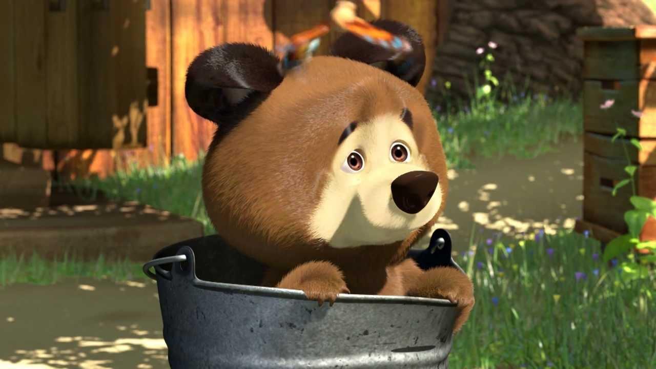 медведь из маша и медведь картинка