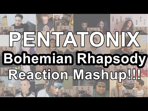 Pentatonix - Bohemian Rhapsody (Reaction Mashup)