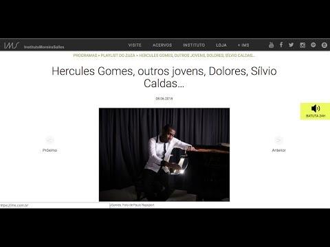 "<span class=""title"">Zuza Homem de Melo fala sobre Hercules Gomes</span>"