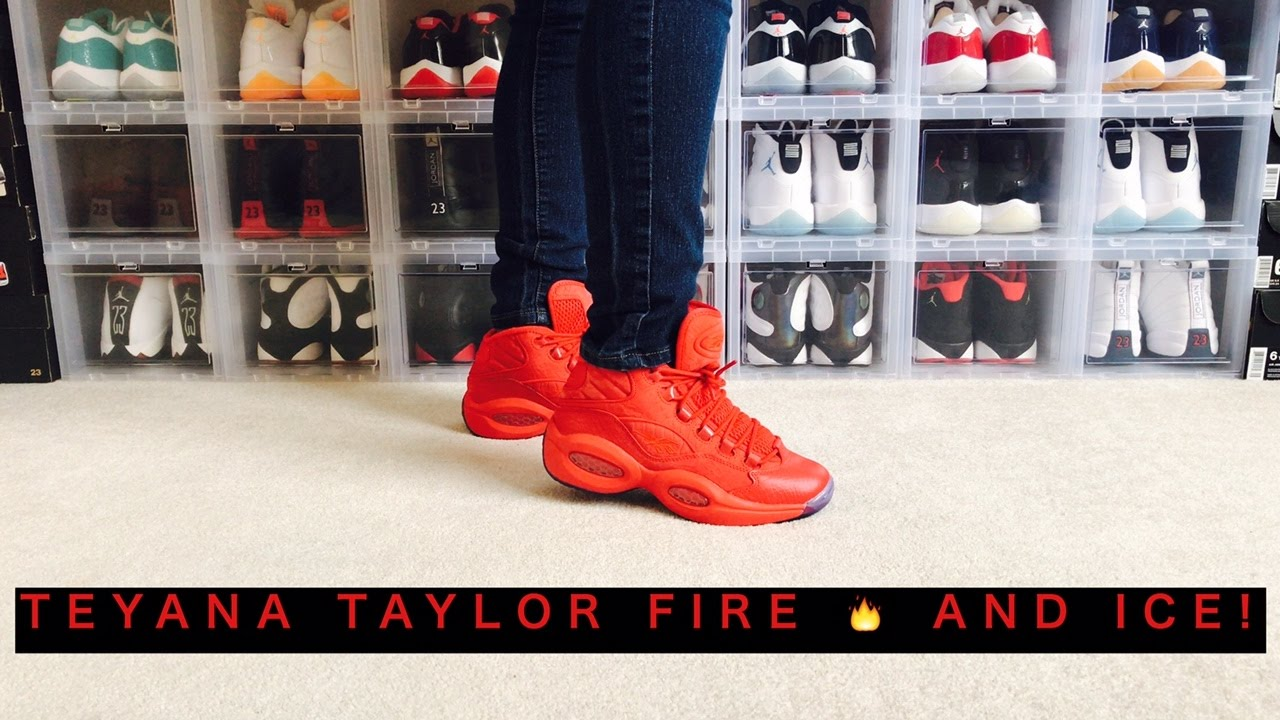9c6e95a7e9a5 TEYANA TAYLOR REEBOK QUESTION MID!