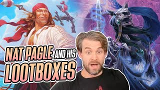 (Hearthstone Battlegrounds) Nat Pagle and His Lootboxes