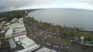 Hilo, Hawaii - downtown and bay front