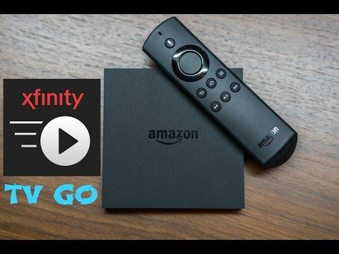 ( XFINITY TV GO ) ON AMAZON FIRE TV
