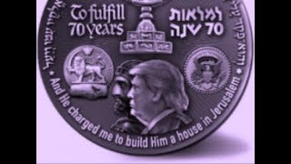 "Trump's Image On NEW Israeli ""70 Years"" Temple Coin"