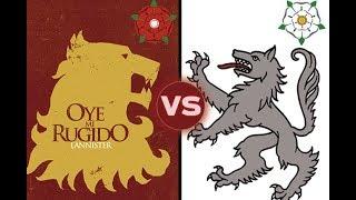 Игра Престолов = война Алой и Белой розы?