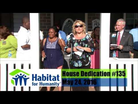 Habitat for Humanity Home Dedication #135