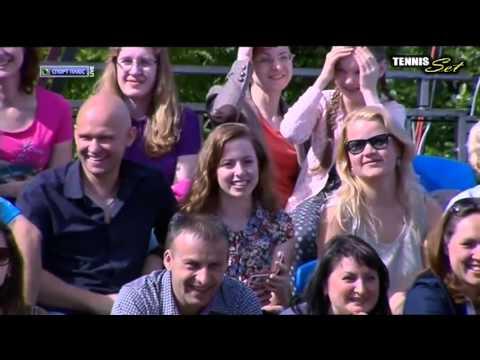 Goran Ivanisevic vs Cedric Pioline TENNIS LEGENDS HD MOSCOW 2015