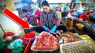 Вьетнам 2019. НАСТОЯЩИЙ АЗИАТСКИЙ Рынок в Нячанге. Цены на фрукты и еда на Ксом Мой Нячанг