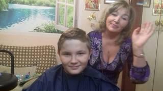 Как подстричь ребенка ,дома  самой ?.Life hack how to cut bangs child .