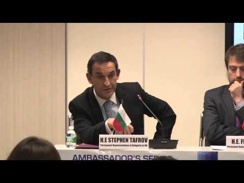H.E. Stephen Tafrov - Intergovernmental Relations Among Balkan Nations & The EU