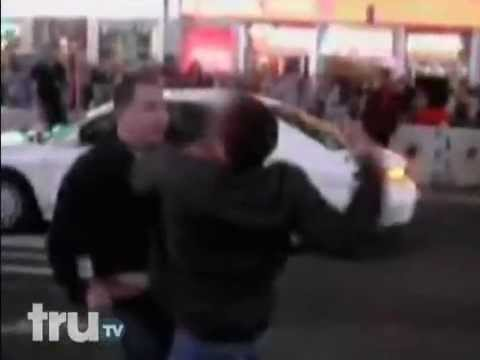 1 Guy Fights and Beats 3 Guys For Hitting His Wife In Time S