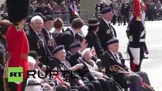 UK: Thousands line streets as London celebrates VE Day