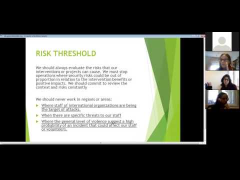 Webinar:  EUAV standards - Duty of care & Safety and Security
