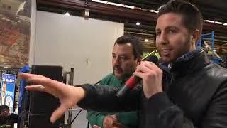 """Salvini: """"Abbiamo ridotto gli sbarchi del 90 percento"""""""