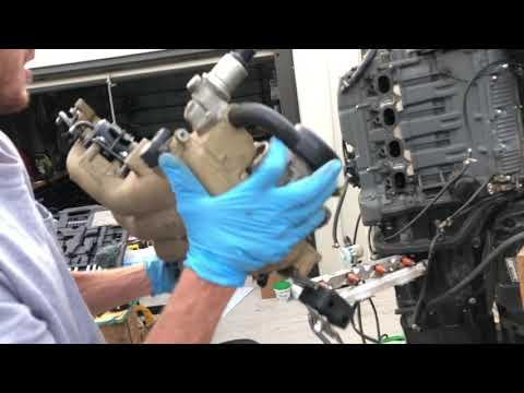 Suzuki outboard Fuel Pump Repair reassembly FULL DETAILS