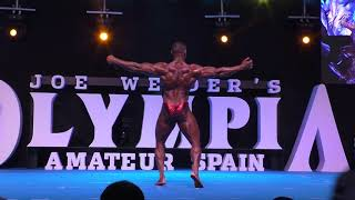 Bodybuilding Superheavyweight Prejudging @ Mr  Olympia Amateur Spain 2019