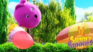 Cartoons for Children | SUNNY BUNNIES - BALLOON BOUNCE | Funny Cartoons For Children