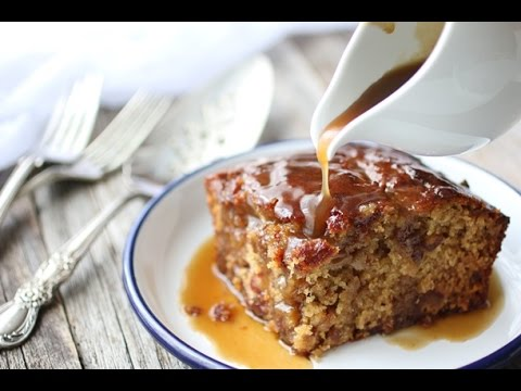 Sticky Date Pudding With Butterscotch Sauce Recipe Youtube