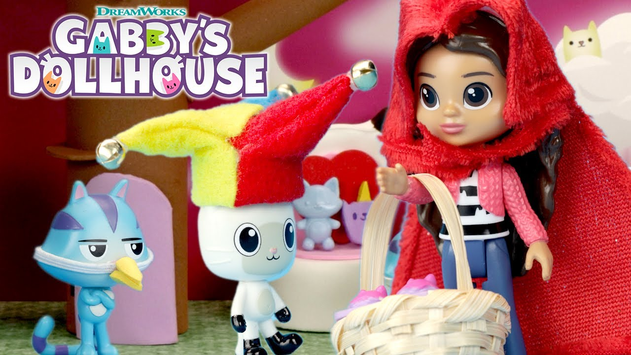 🧺 Little Red Riding Gabby 🙀   GABBY'S DOLLHOUSE TOY PLAY ADVENTURES