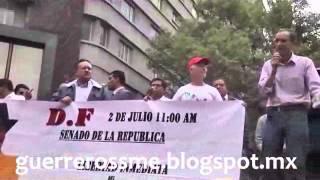 Rechazan Radios Comunitarias de Puebla en el Senado #LeyTelecom de #EPN 3 Julio 2014