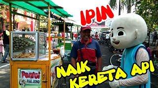 Naik Kereta Api | Lagu Anak Indonesia - Ipin Bergoyang Lucu, Ke Bandung Surabaya - New Larasati