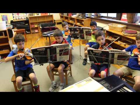 Mountaineer Montessori School Spring Concert Practice: Ode to Joy