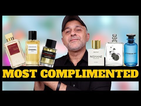 TOP 21 MOST COMPLIMENTED FRAGRANCES | FRAGRANCES THAT ARE COMPLIMENT GETTERS 2020