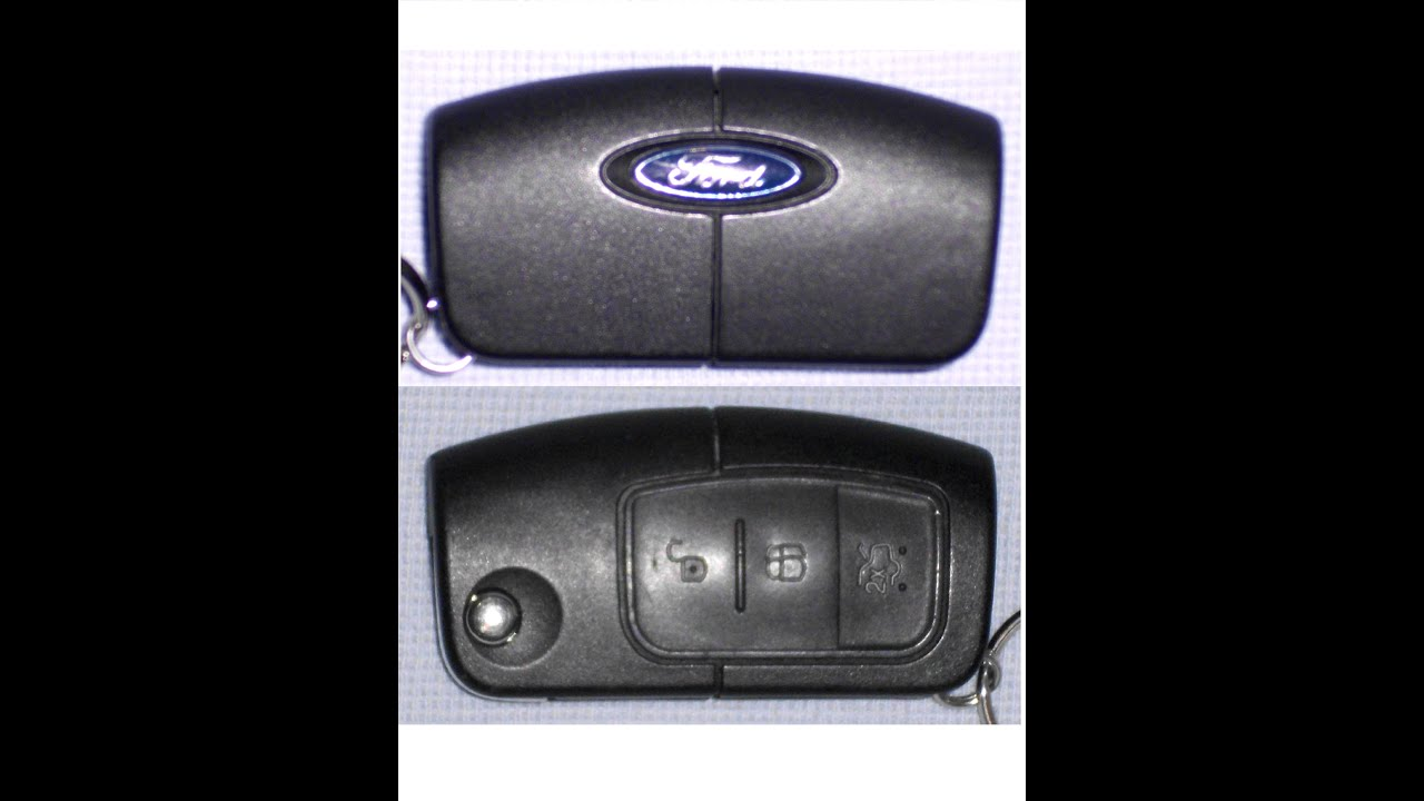 Ford Key Fob Battery Replacement How To Change Replace Remote    Youtube