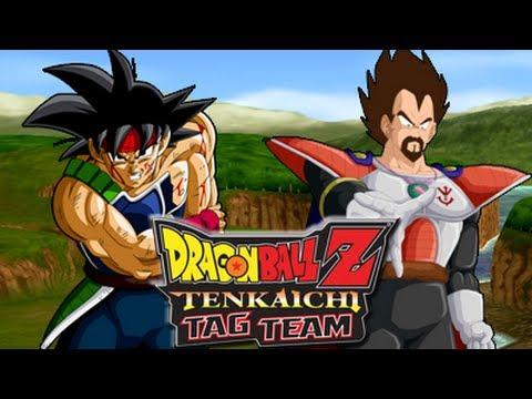 Dragon Ball Z Tenkaichi Tag Team - Bardock VS King Vegeta ...