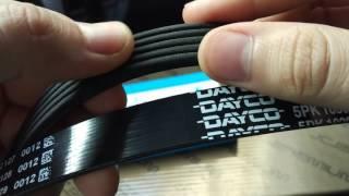 ремень генератора Dayco 5PK1030