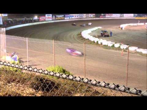 Santa Maria Speedway Dwarf Heat Race (3) 10-26-13