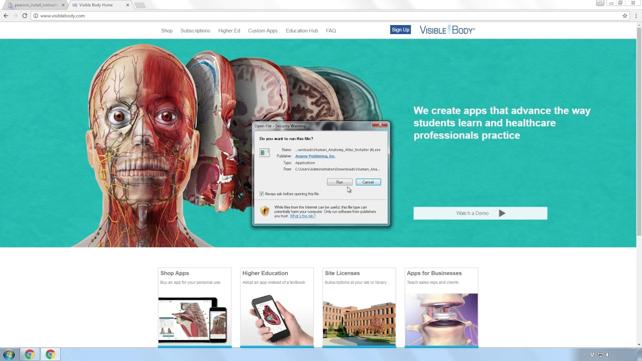 Visible Body Human Anatomy Atlas Serial Number – Periodic & Diagrams ...
