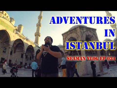 Adventures in Istanbul, Turkey | Seaman VLOG 034