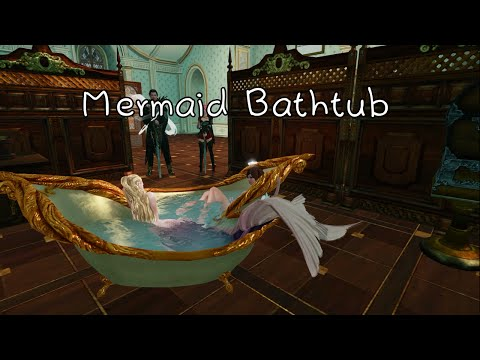 Archeage Artistry - Mermaid Bathtub