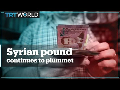 Syrian Pound Continues To Plummet