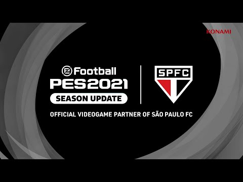 eFootball PES2021 Sao Paulo FC announcement trailer