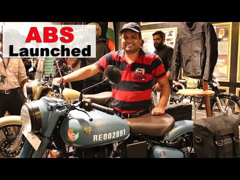 YES - ABS on ROYAL ENFIELD Classic 350