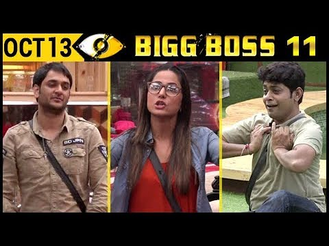 Bigg Boss 11 : Hina Khan, Vikas Gupta Fight, Sabyasachi's Sexy Dance  Day 12  13th October 2017