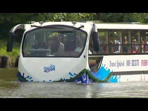 """""""Splashtours"""": Lübeck hat jetzt einen Amphibienbus"""